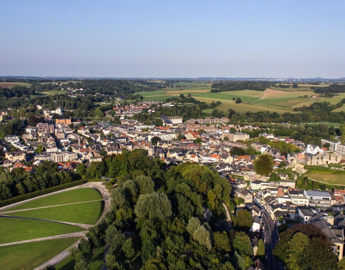 Het plaatsje Valkenburg