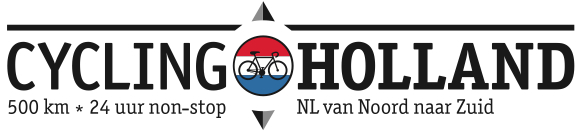 Cycling Holland logo zwart op wit