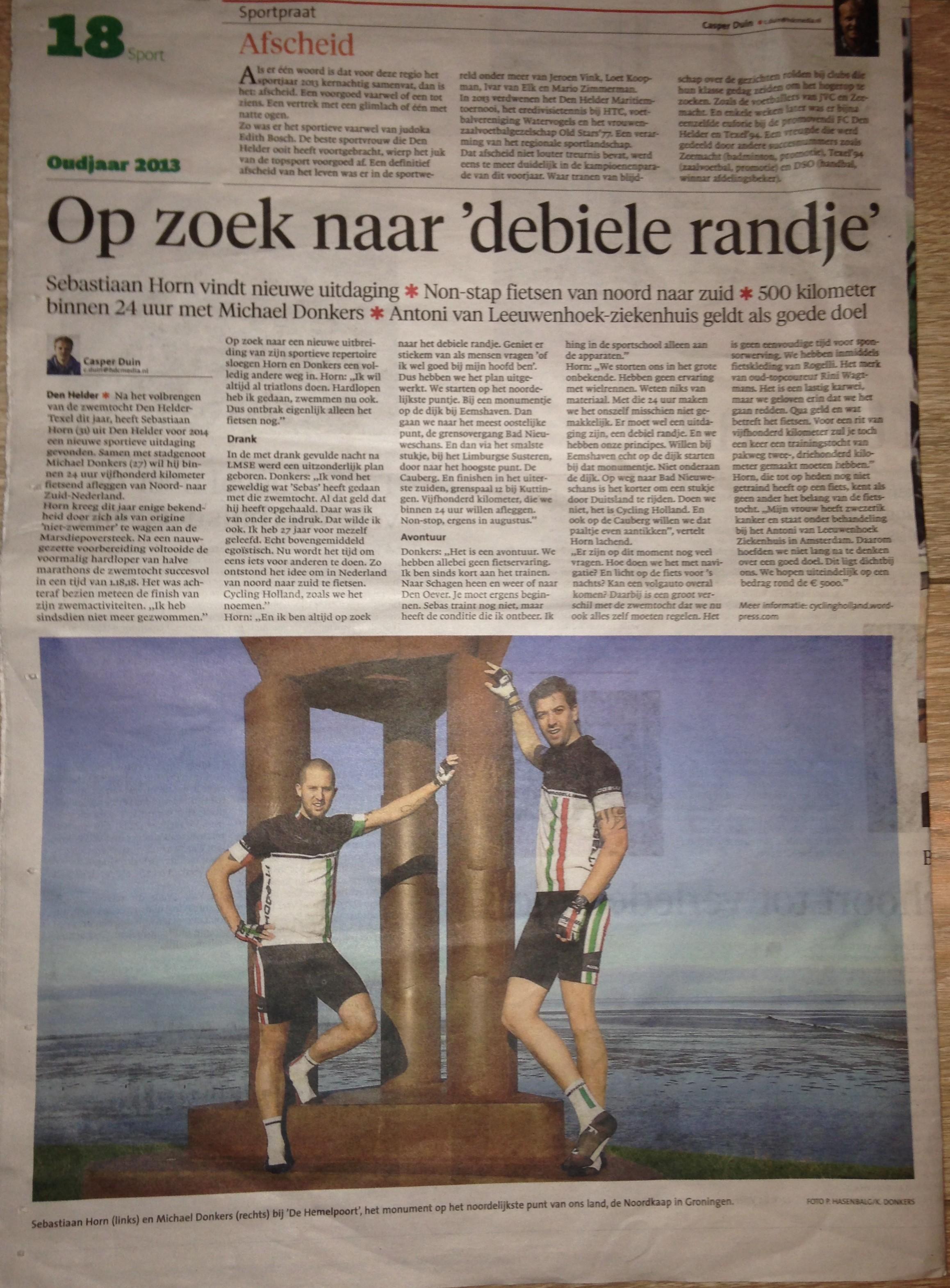 Helderse Courant 30-12-2013