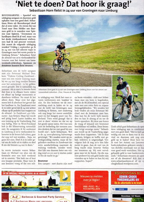 Westfries Weekblad 10-08-2014