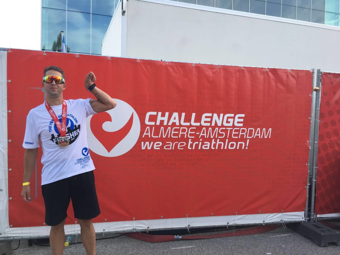 Challenge Almere finisher..